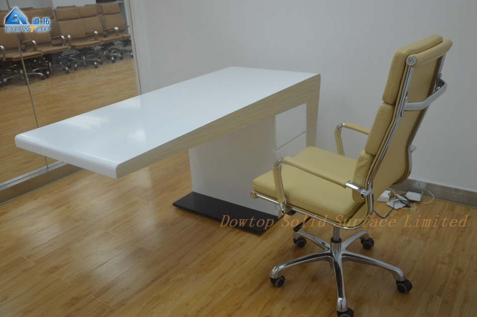 Contemporary White Office Table Designs Made In China