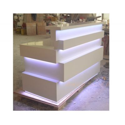 LED bar,pure white finishing,small reception